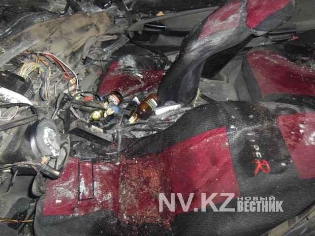 Водитель «БМВ», попавшей в аварию, выключил фары и выехал на встречную полосу (фото, видео)