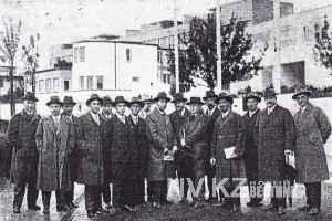 советская делегация в Германии 1927