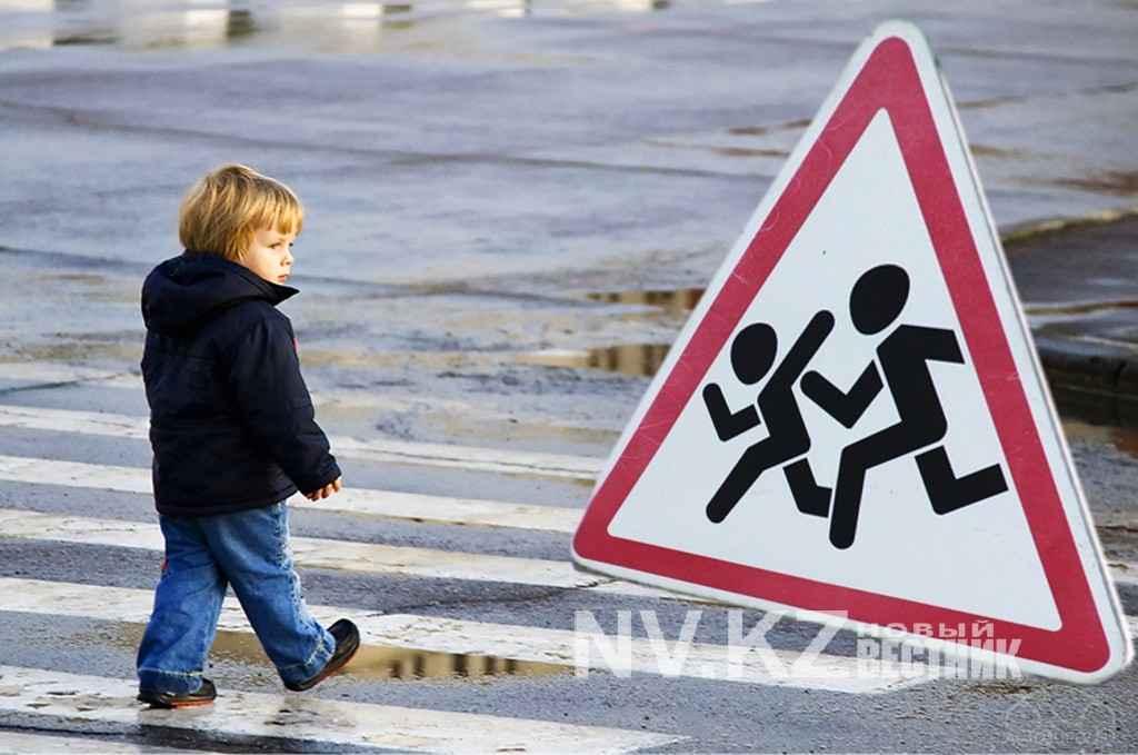 В Карагандинской области за семь месяцев зафиксировано 70 ДТП с участием детей