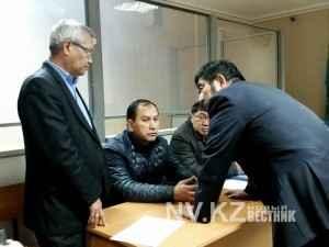 Абдишев с адвокатами