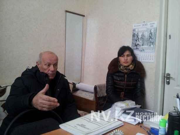 Борис Выдря и Алтынай Байташова