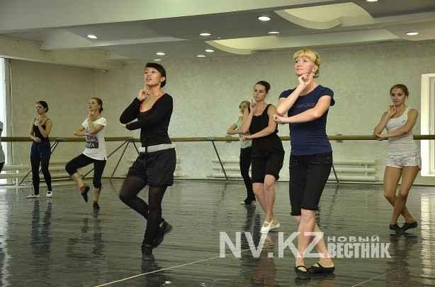 в балетном классе