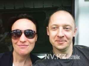 Алескей Голубович с женой