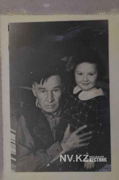 Герман Никанорович с внучкой