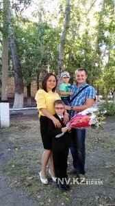 Молодая семья Мартыщук