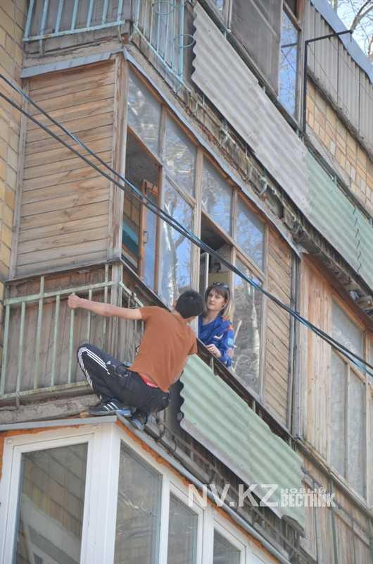С балкона находящегося. - под ключ - каталог статей - ремонт.