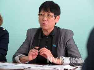 Депутат Сайран Сыздыкова
