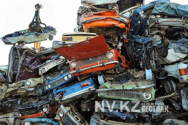 Карагандинский завод приступил к переплавке автохлама