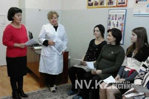 О пользе прививок рассказали беременным в Карагандинской области