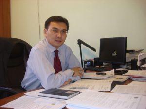 Председатель ликвидкомиссии Бердыбаев.
