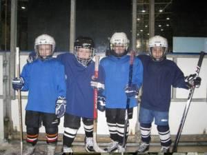 Дети на тренировке в Ак Жолтае.