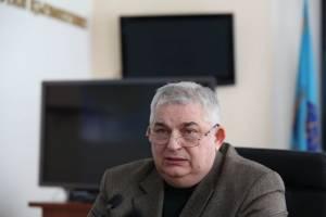 Начальник Управления госконтроля в угольной промышленности ДЧС области Станислав Сытник, фото Валерия Калиева