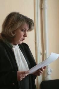 Судья Октябрьского районного суда №2 Галина Жилина. Фото Елены Старостиной