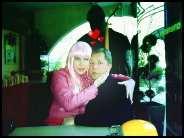 Карина-Барби со своим гражданским мужем Анатолием: хорошим человеком с московской пропиской.